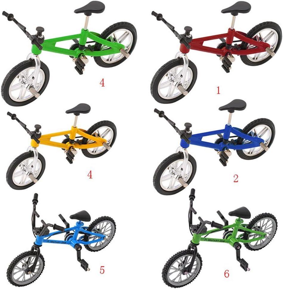 Lergo Finger Alloy Bicycle Model Mini MTB BMX Fixie Bike Boys Toy Creative Game Gift