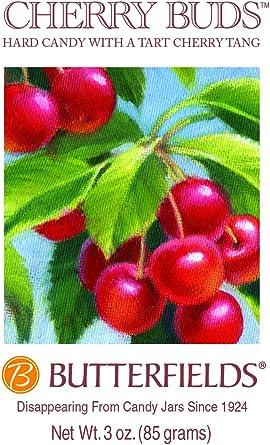 BUTTERFIELDS Caramelo duro de cerezas (Pack de 3): Amazon.es: Alimentación y bebidas