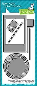 Lawn Fawn LF2345 Magic Iris Camera Pull-Tab Add-On Custom Craft Dies