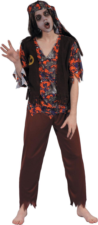 Generique - Disfraz Zombie Hippie Hombre XL: Amazon.es: Juguetes y ...