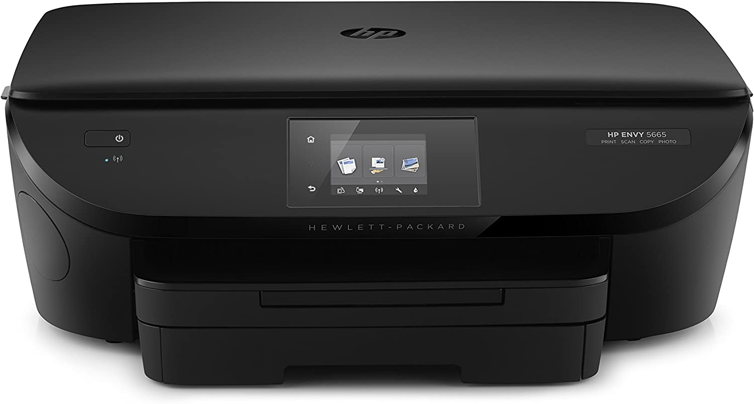 HP Envy 5660 Wireless All-in-One Photo Printer with Mobile Printing, Instant Ink Ready (F8B04AR) (Renewed)