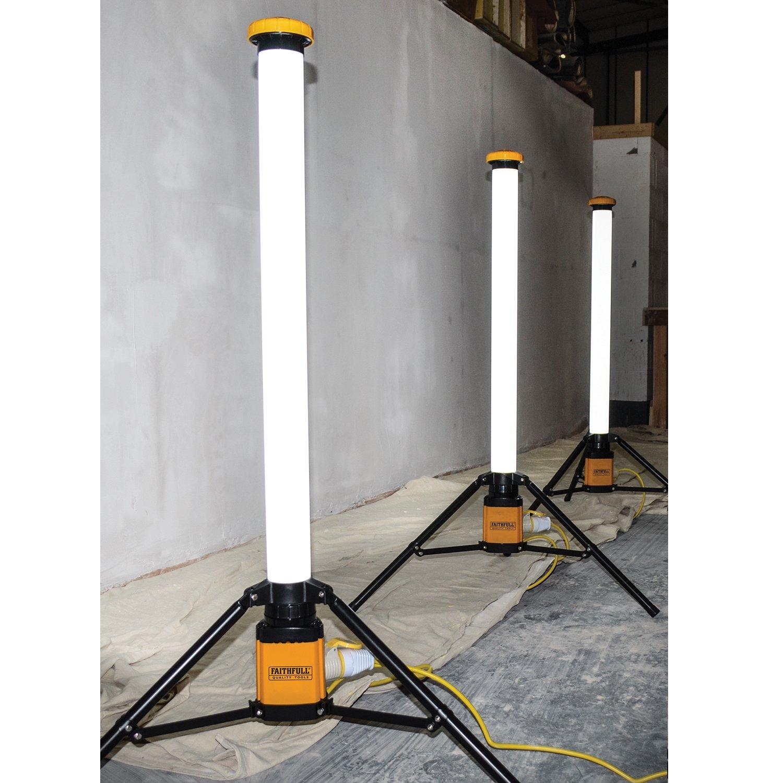 Large Faithfull Power Plus SLLED36U LED 900mm Tripod Pole Light 36 Watt 240 Volt W 240 V