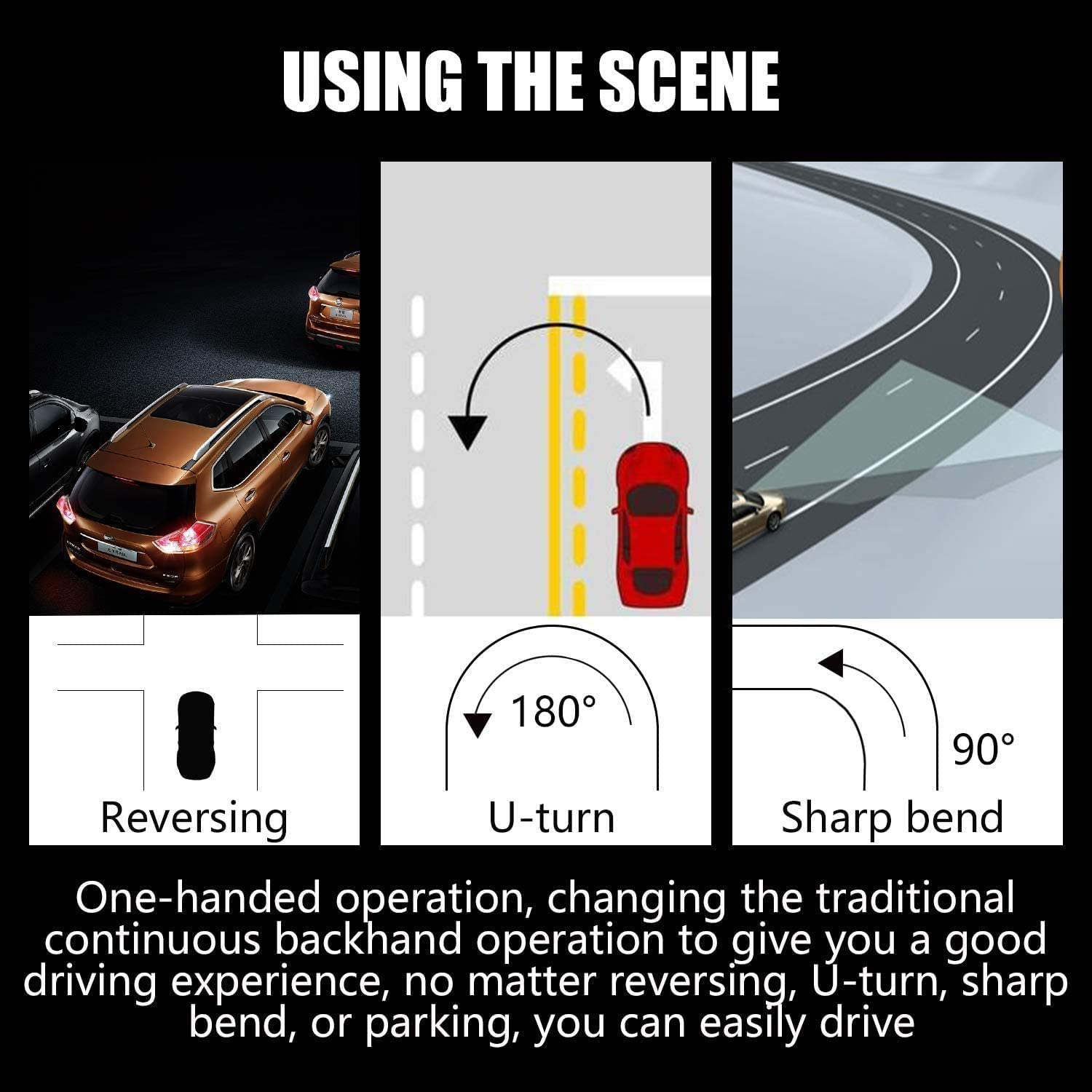 3//Y SNM Upgraded Steering Wheel Booster for Tesla Autopilot FSD Auto Assisted Driving AP Aid Control Handle Car Vehicle Steering Wheel Auxiliary Booster