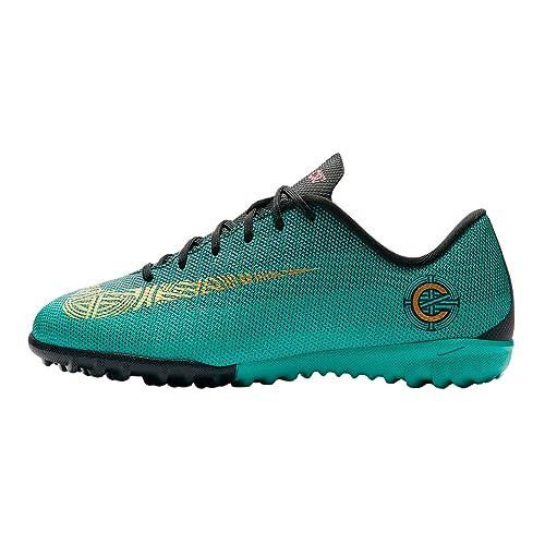 Nike vaporx 12 Academy GS Junior Kids Verde Size: 34 EU: Amazon.es: Zapatos y complementos