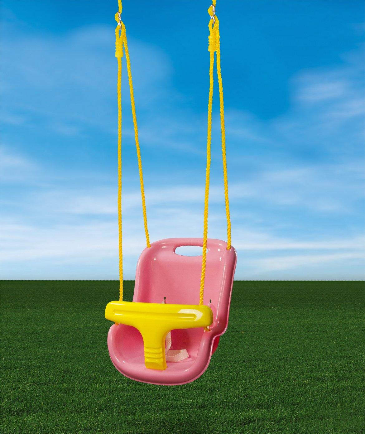 Gorillaplaysets Infant Swing - Pink Gorilla Playsets 04-0032-PK