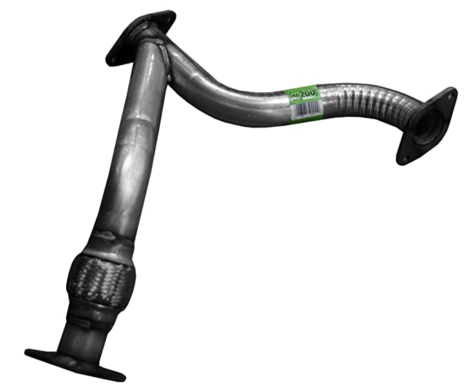 Flowmaster 1078 Turbo Downpipe Pipes Only No Mufflers 4.00 in