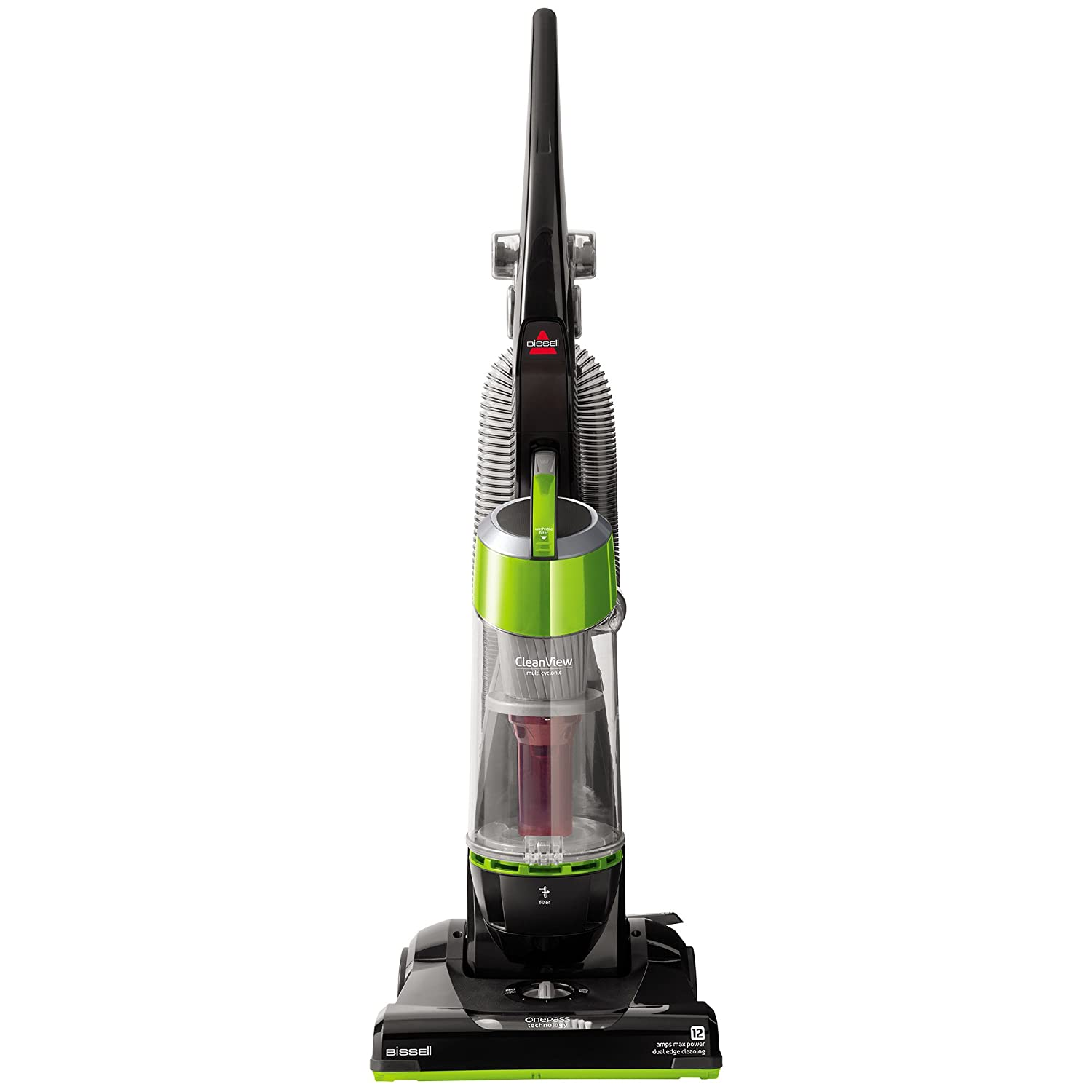 Bissell CleanView Bagless Upright Vacuum, Green, 95957