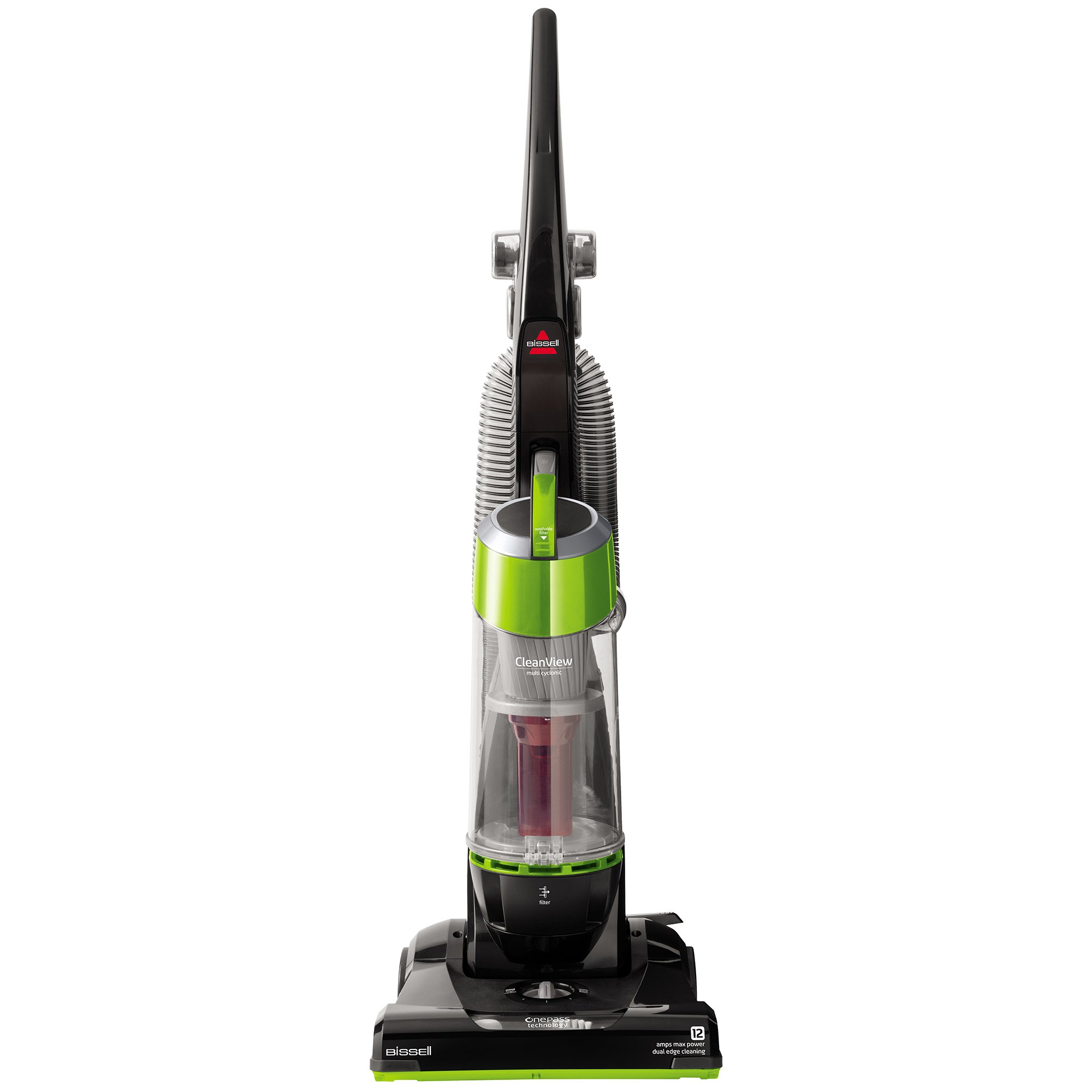 Bissell CleanView Bagless Upright Vacuum, Green, 95957 by Bissell