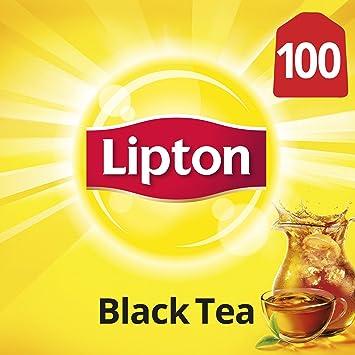 7e93907d2 Amazon.com : Lipton Black Tea Bags, 100% Natural Tea, 100 ct ...