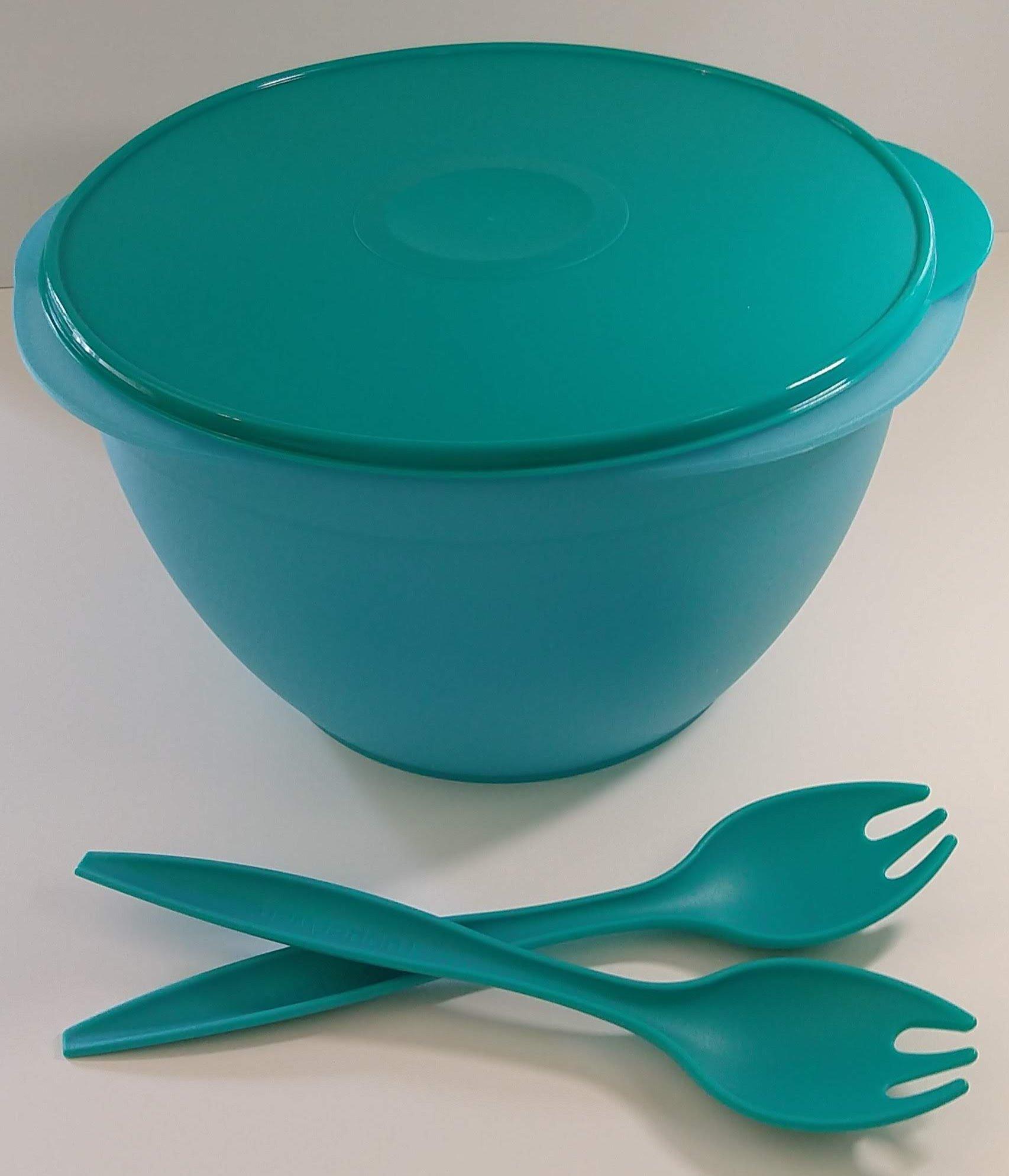 Tupperware Maxi Salad Bowl Set in Parrotfish