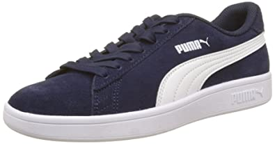 White Bleu Puma Mixte 36 v2 Smash Adulte Peacoat Sneakers Basses awqBZgvw8