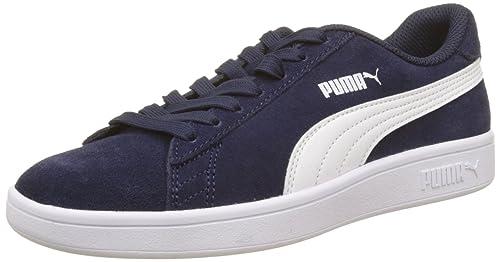 Puma Unisex Adults Smash V2 Low-Top Sneakers  Amazon.co.uk  Shoes   Bags 4eb1fcfa0