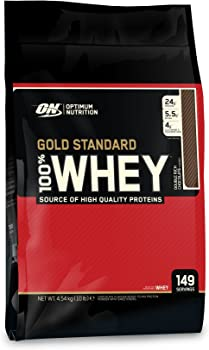 ON Gold Standard 10lb 100% Whey Protein Powder (Double Rich Chocolate)