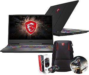 """MSI GP65 Leopard 10SFK-047 (i7-10750H, 16GB RAM, 1TB NVMe SSD + 2TB SSHD, RTX 2070 8GB, 15.6"""" Full HD 144Hz 3ms, Windows 10) Gaming Notebook"""