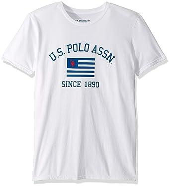 U.S. Polo Assn. Hombre 11-4493-04 Manga Corta Playera - Beige - XX ...