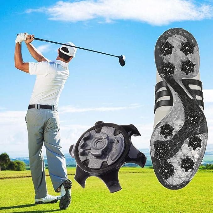 Amazon.com: ouxinli - Zapatillas de golf de recambio fácil ...