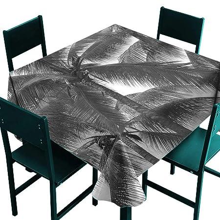 ScottDecor - Mantel de Mesa con diseño de Hojas de Palmera, para ...