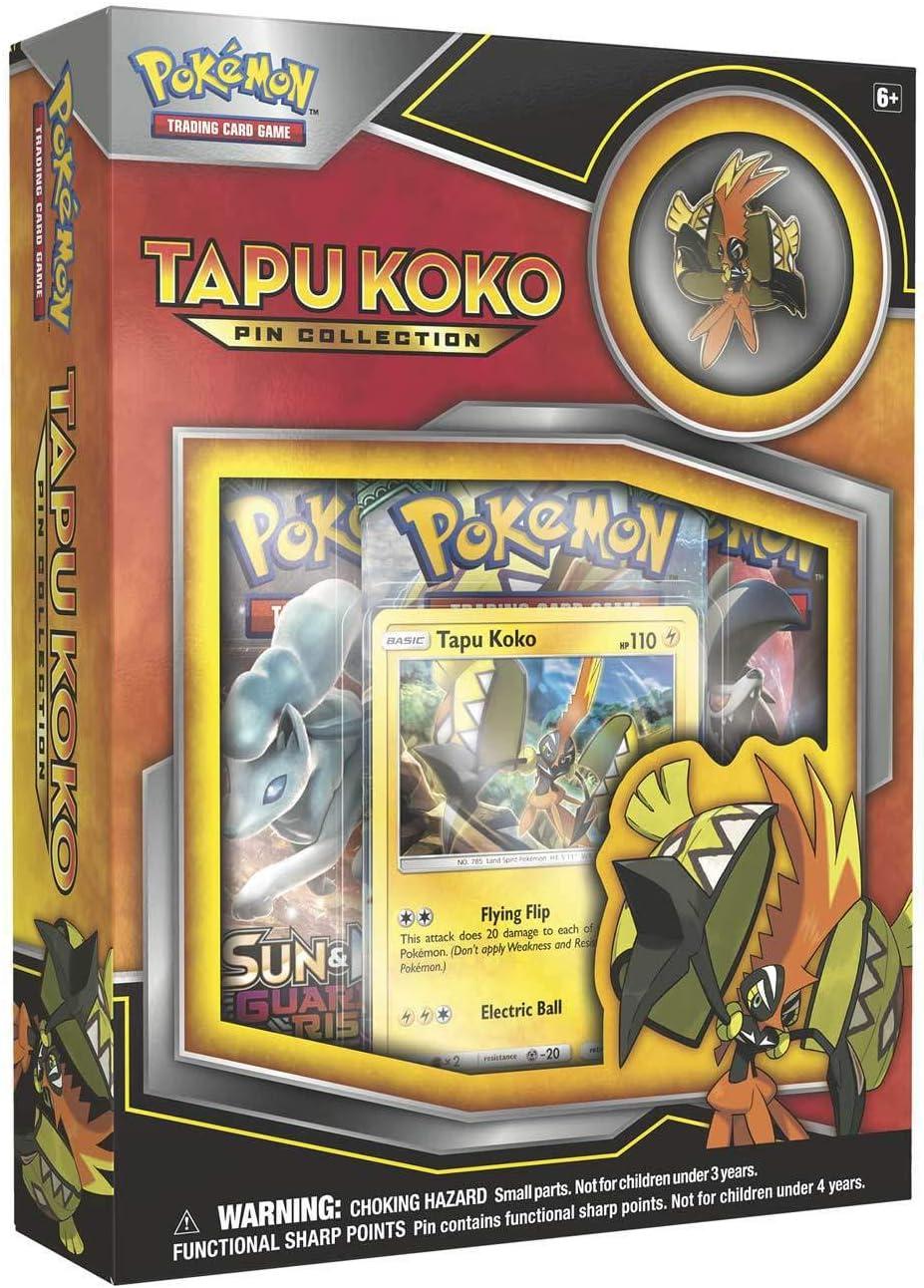 PoKéMoN 290-80276 - Cartas coleccionables de la colección Tapu Koko Pin Collection: Amazon.es: Juguetes y juegos