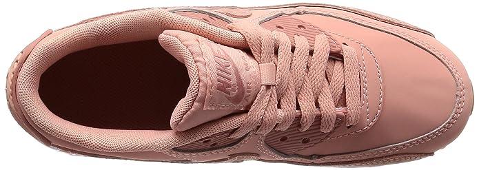 ec60c0ea96a1 Nike Girls  Air Max 90 LTR Se Gg Gymnastics Shoes Grey  Amazon.co.uk  Shoes    Bags