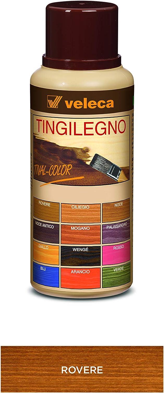 Veleca Tival - Tinte para madera de roble - 250 ml - Tinte para madera de interior
