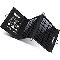 X-Dneng Solar Charger for Camping, Fishing, Hiking