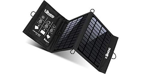 X-Dneng Solar Charger for Camping, Fishing, Hiking only $24.99