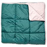 Leisure Co Ultra-Portable Outdoor Camping Blanket - Windproof, Warm, Lightweight and Compact Packable Blanket - Perfect for C