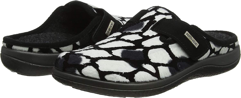 Rohde Bari 6550-Femmes Chaussures en Feutre semelle extérieure en plastique
