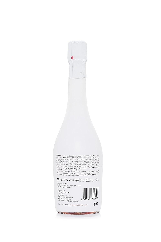 PURED 613 Vino Espumoso (100% a partir del fruto de la Granada) SPARKLING POMEGRANATE WINE