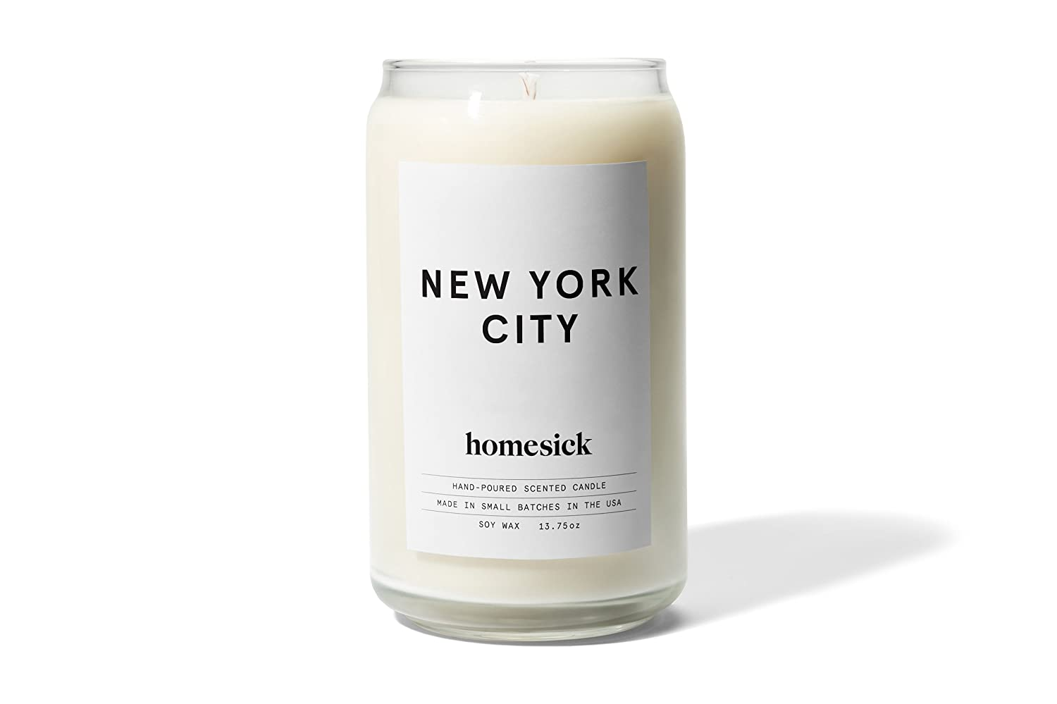 Homesick Scented Candle, New York City Product Labs Inc HSCA1-NYC-WH01