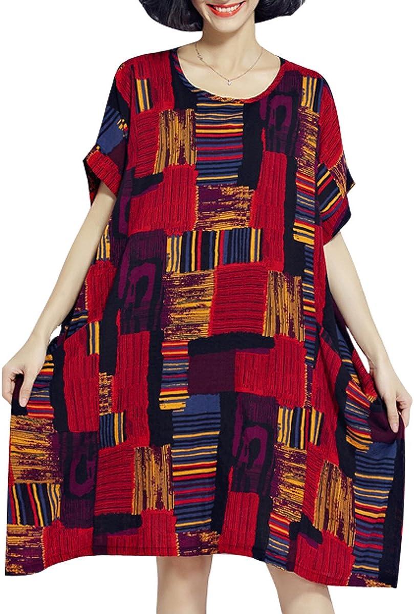 ELLAZHU - Traje de Vestir - para Mujer