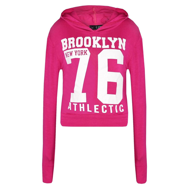 A2Z – 4 Kids® Niñas Tops Rosado Brooklyn 13 – 76 impresión con ...