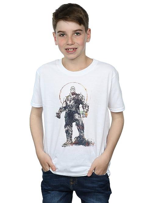 Absolute Cult Avengers Hombre Infinity War Fierce Thanos Camiseta vJJHZDwaq
