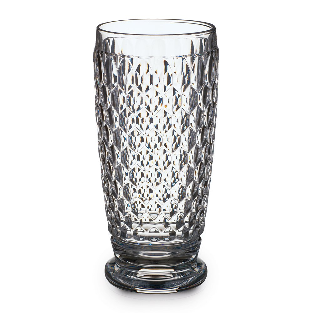 Villeroy & Boch Boston Clear Crystal Highball Glasses, Set of 4