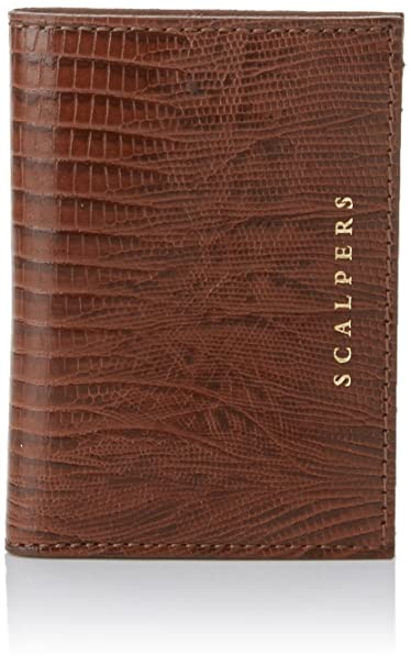 Scalpers Premium Wallet, CARTERA para Hombre, BROWN UNICA: Amazon.es: Ropa y accesorios