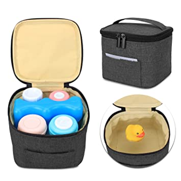 Amazon.com: Luxja bolsa enfriadora de leche materna ...