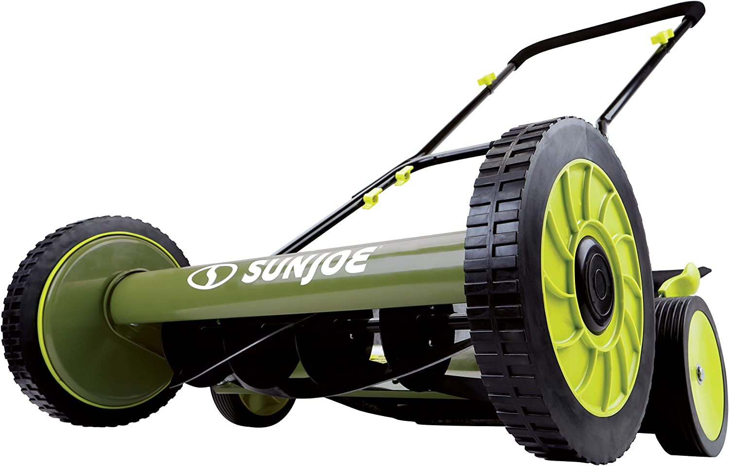 8. Snow Joe MJ501M 18-Inch Manual Reel Mower w/grass catcher