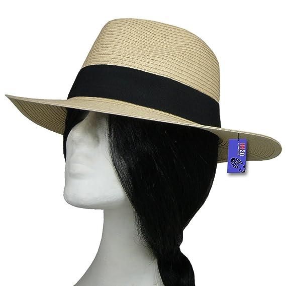 d57db9cfdd9 Hey Hey Twenty Fedora Hat with Travel Tube  Amazon.co.uk  Clothing