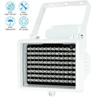 KKmoon Lámparas infrarrojas de 96 LED impermeable al