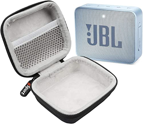 JBL GO 2 IPX7 Waterproof Ultra Portable Bluetooth Speaker Bundle with gSport Deluxe Hardshell Case Cyan