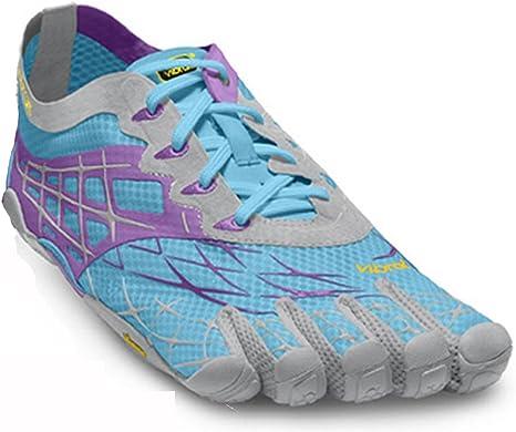 Vibram Fivefingers Seeya LS - Zapatillas con Dedos para Mujer (para Running o Fitness) Blue/Violet/Grey Talla:42: Amazon.es: Zapatos y complementos