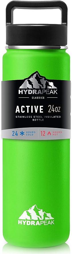 Hydrapeak Flow 32oz Stainless Steel Water Bottle Wide Mouth Flask ...