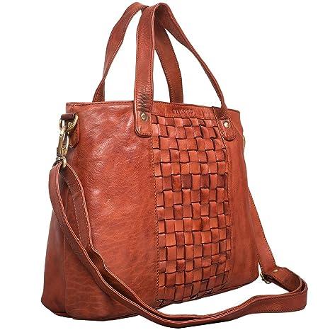 7a4dcad9adf22f STILORD 'Mara' Borsa da donna in pelle vintage Grande borsa a tracolla con  manici