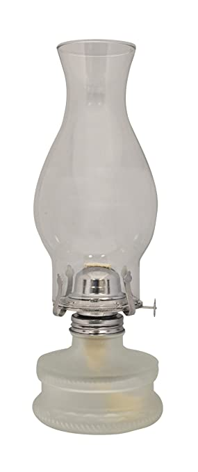 Nice Lamplight Farms 22300 Classic Oil Lamp Frosted Base