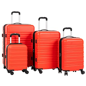 Amazon.com: Murtisol - Juego de maletas expandibles de ...