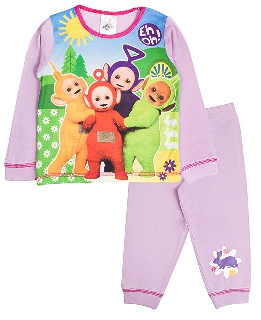 Teletubbies - Pijama Dos Piezas - Manga Larga - para niño Morado Eh Oh! -