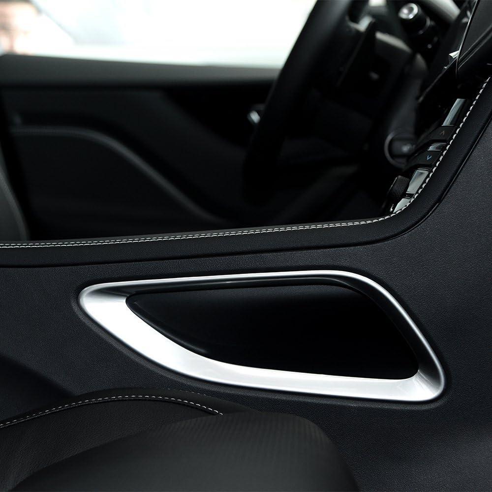 F-pace F rythme 2016/2017/ABS Chrom/é Int/érieur Shift Box c/ôt/é Cadre de recouvrement Trim Accessoires Auto Styling