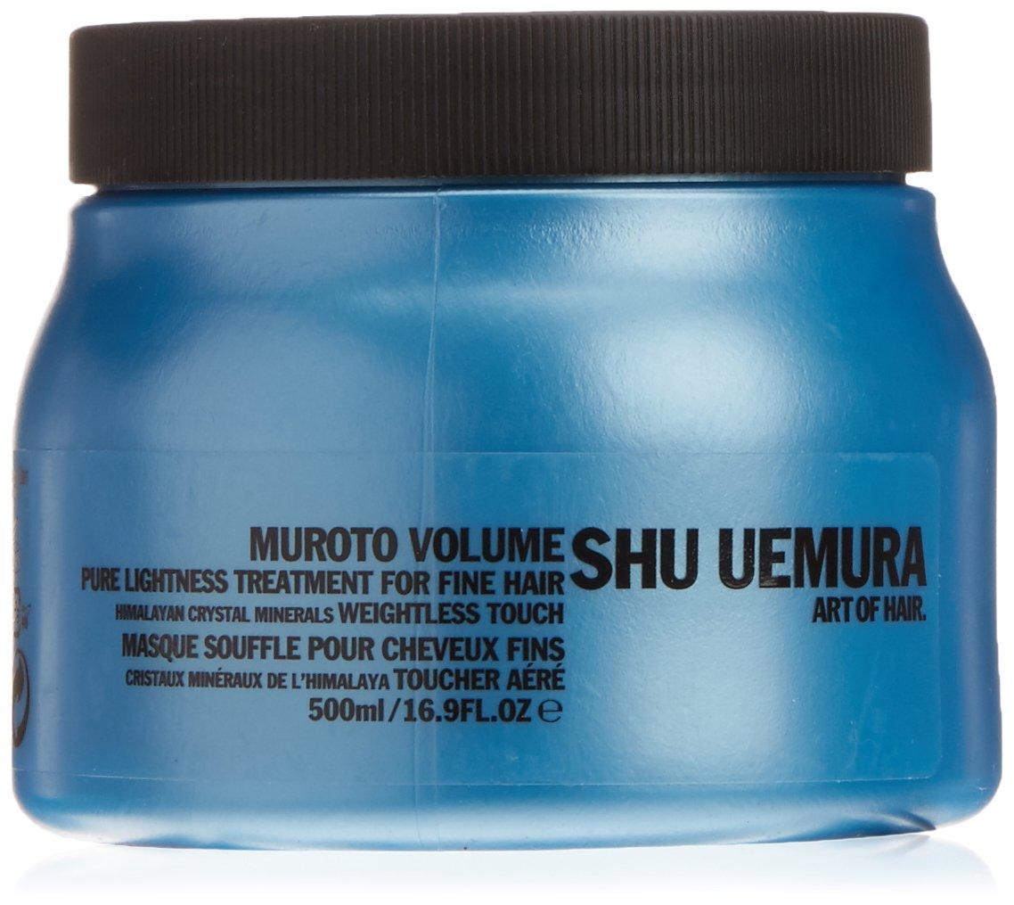 Muroto Volume Pure Lightness Treatment Masque For Fine Hair by Shu Uemura for Unisex - 16.9 oz Mask