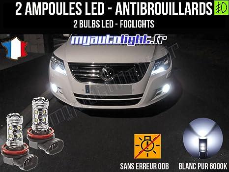 Bombillas LEDs antibrouillards para Volkswagen Tiguan 5 N1
