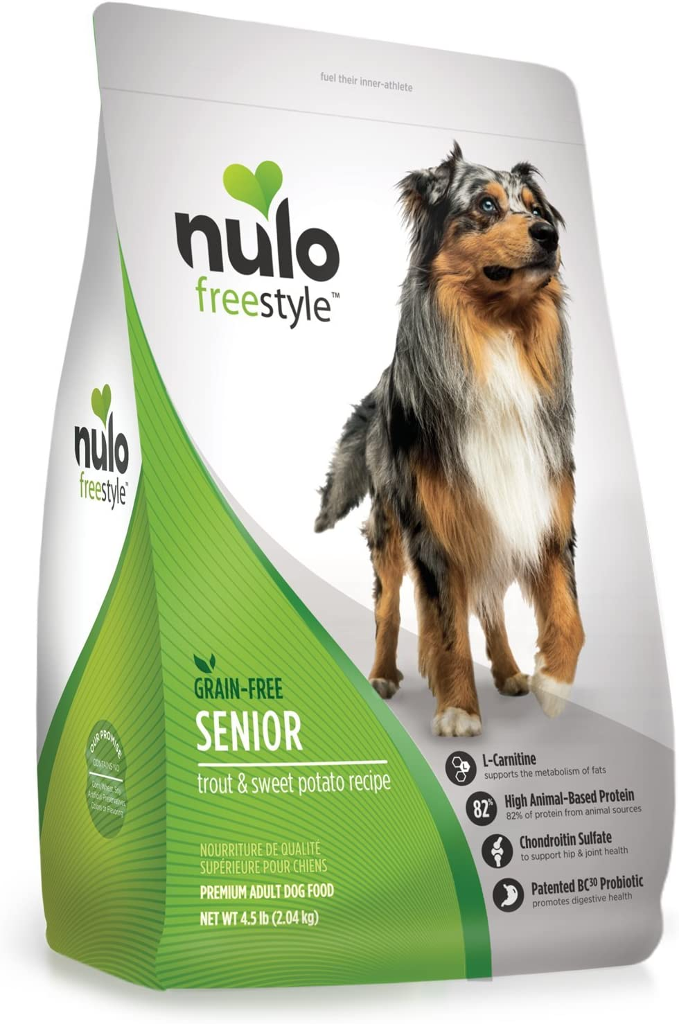 Nulo Dry Grain-Free SR Trout Food, 4.5 lb